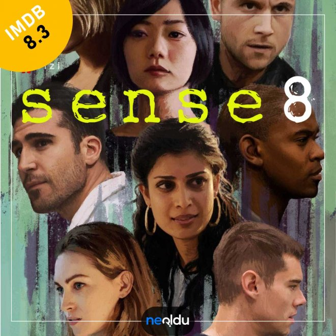 Sense8 (2015) | IMDb: 8,3