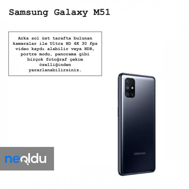 Samsung Galaxy M51 video