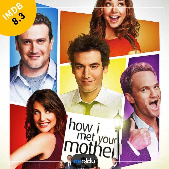 How I Met Your Mother (2005-2014) – IMDb: 8.3