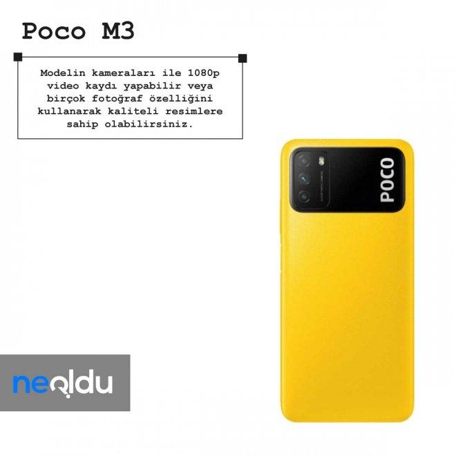 Poco M3 kamera özellikleri