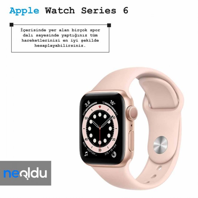 Apple Watch Series 6 ekran özellikleri