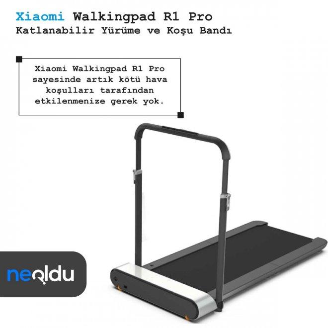 Xiaomi Walkingpad R1 Pro çalışma hızı