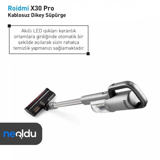 Roidmi X30 Pro HEPA filtre