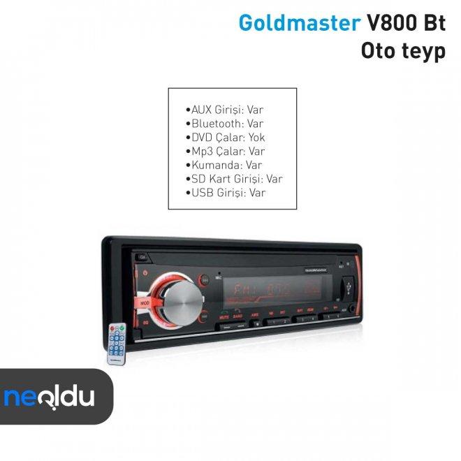 Goldmaster V800 Bt