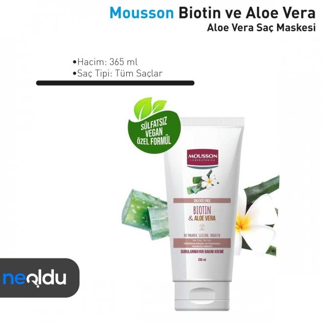 En İyi Aloe Vera Özlü Saç Bakım Maskesi Tavsiye