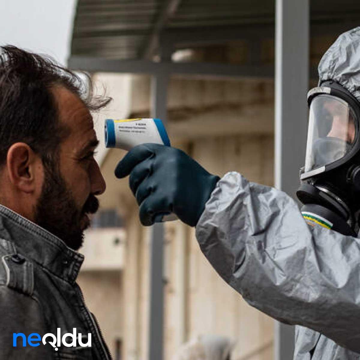 Türkler İngiltere'de Mahsur Mutasyonlu Koronavirüs