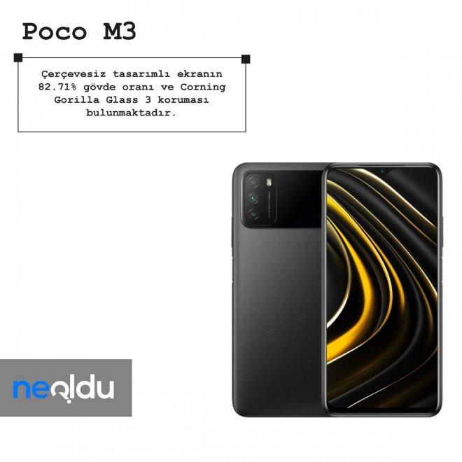 Poco M3 boyut bilgileri