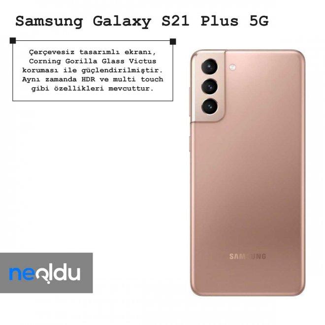 Samsung Galaxy S21 Plus 5G ekran özellikleri