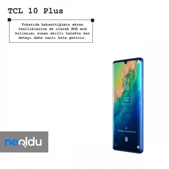TCL 10 Plus göz koruma