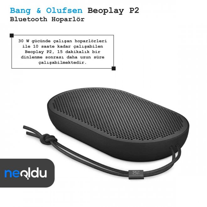 Bang & Olufsen Beoplay P2 Bluetooth Hoparlör