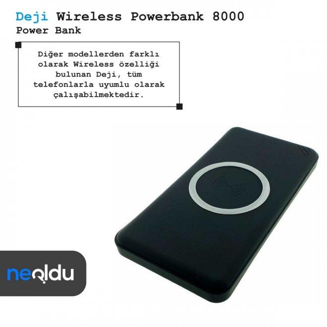 Deji Wireless Powerbank 8000