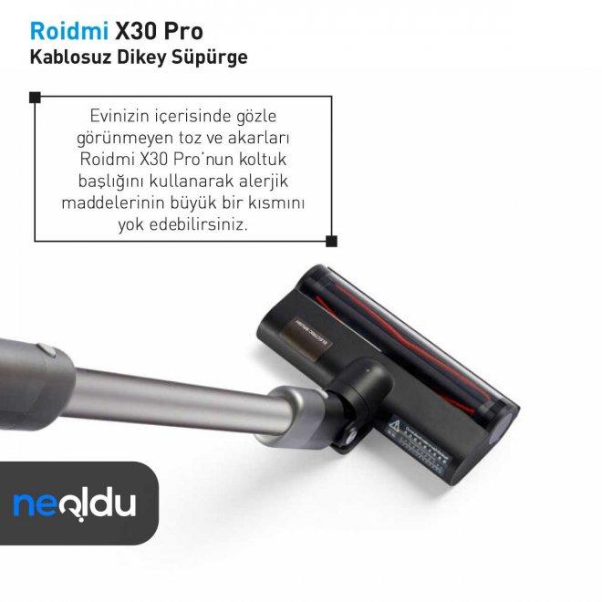 Roidmi X30 Pro OLED ekran