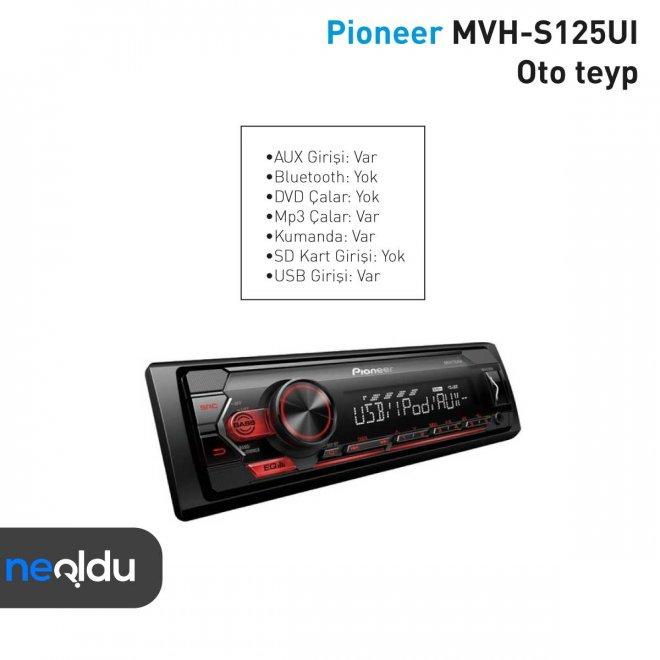 Pioneer MVH-S125UI