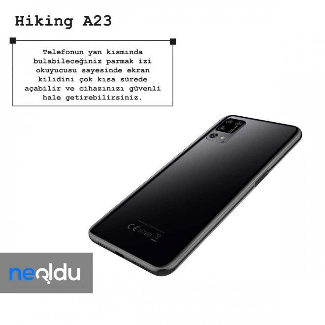 Hiking A23 parmak izi okuyucusu