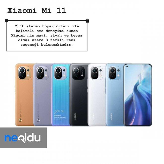 Xiaomi mi 11 hoparlör