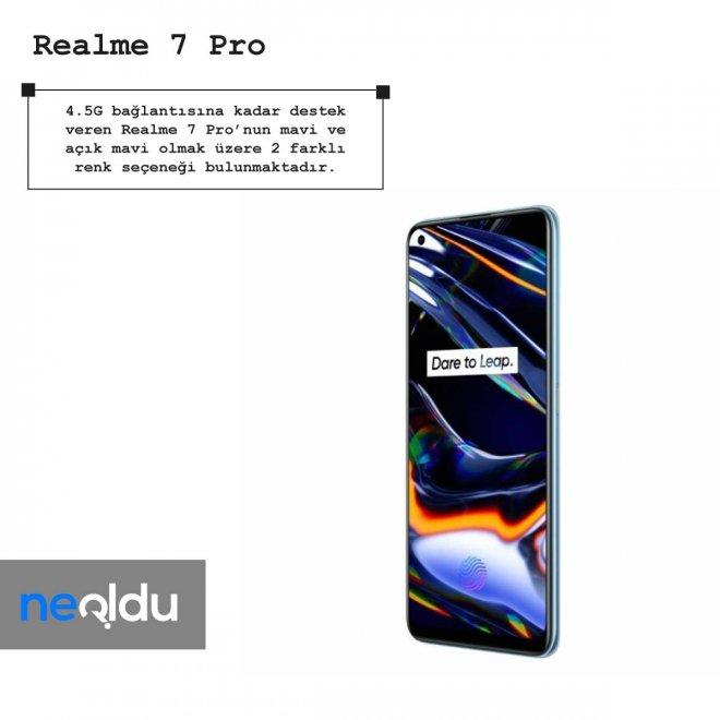 Realme 7 Pro renk seçeneği