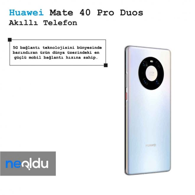 Huawei Mate 40 Pro Duos Bağlantı Hızı