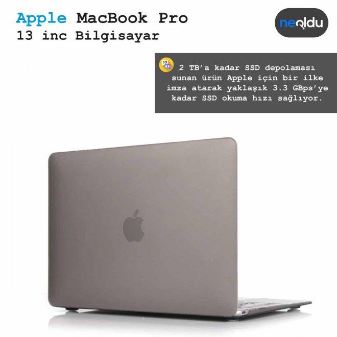 13 inç MacBook Pro depolama