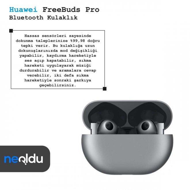 Huawei FreeBuds Pro dokunmatik özelliği