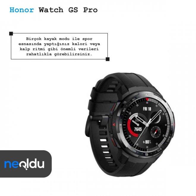Honor Watch GS Pro egzersiz modları