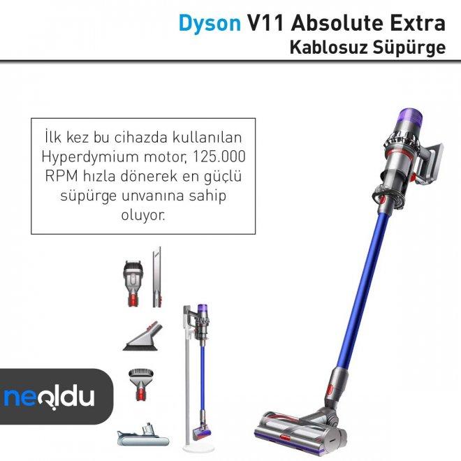 Dyson V11 Absolute Extra gücü