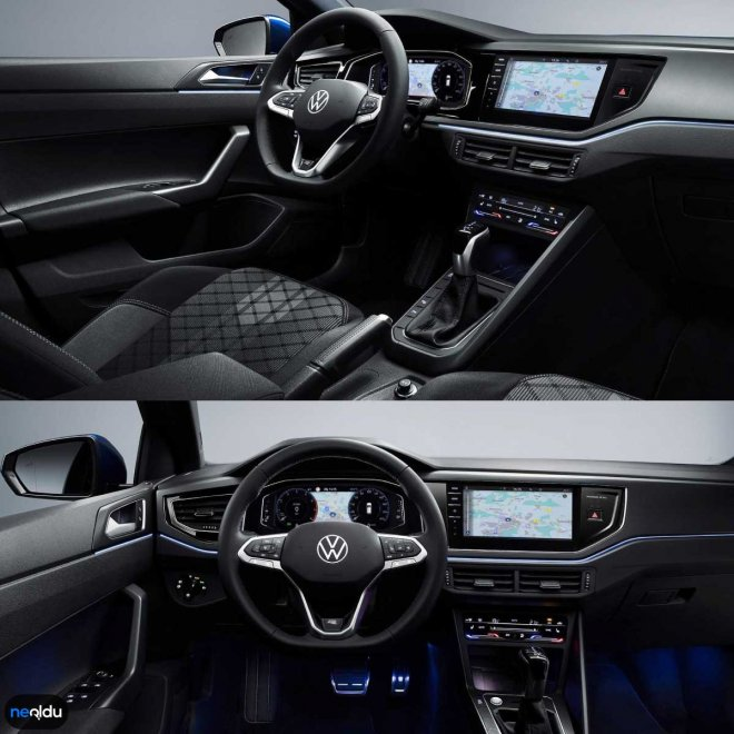 Volkswagen Polo 2021 İç Tasarım