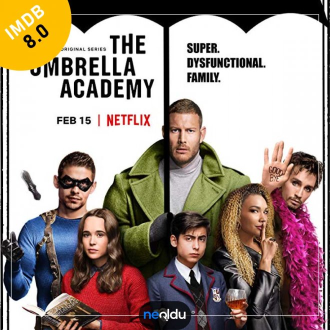 The Umbrella Academy (2019) | IMDb: 8,0