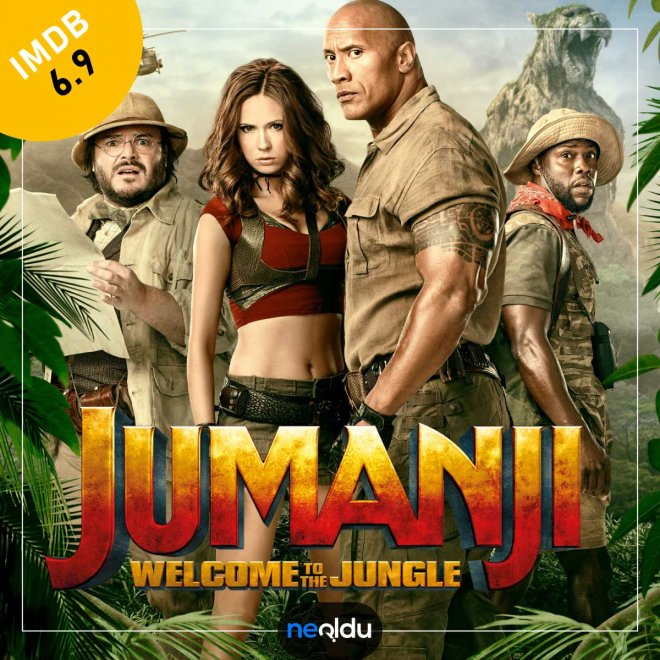 Jumanji: Vahşi Orman (2017) – IMDb: 6.9
