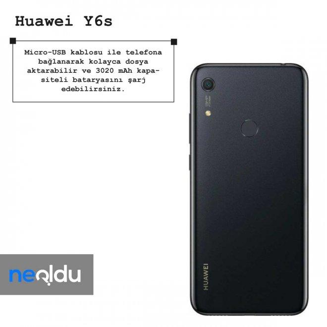 Huawei Y6s batarya