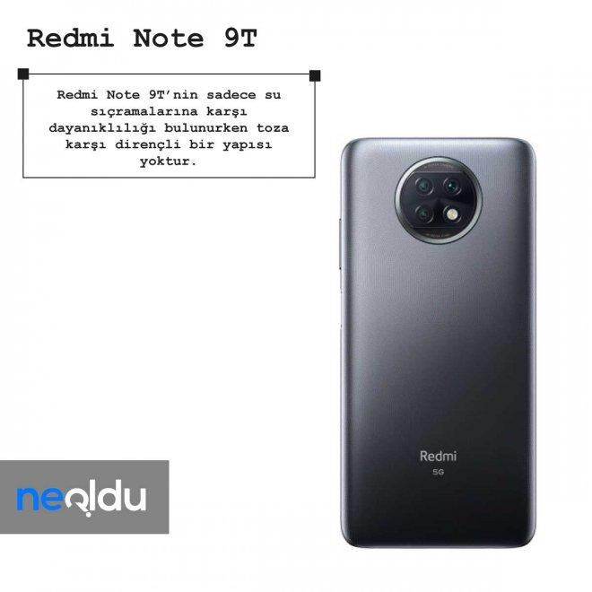 Redmi Note 9T hızlı şarj