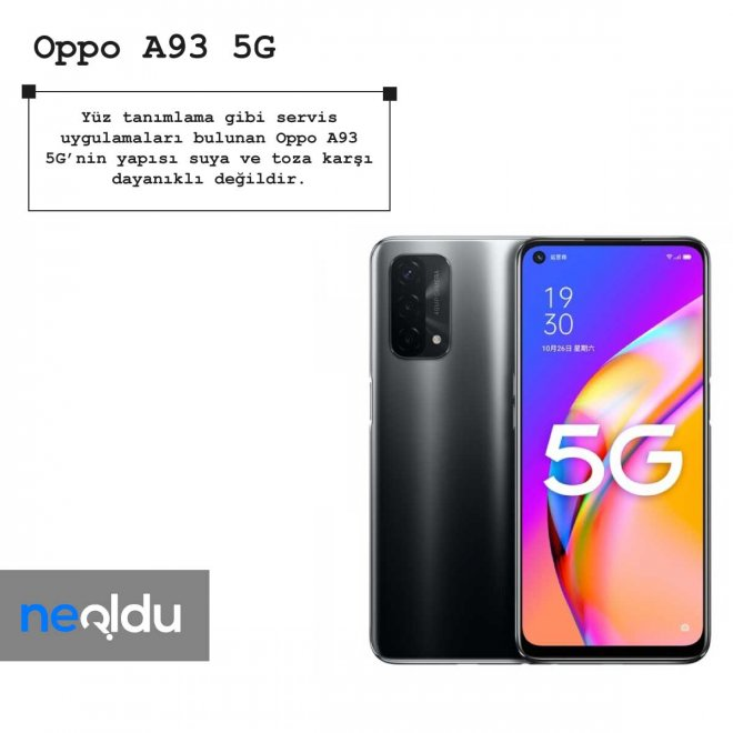 Oppo A93 5G batarya