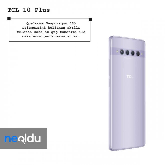 TCL 10 Plus işlemci