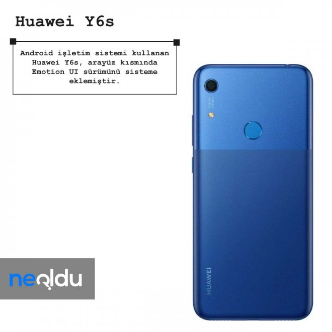 Huawei Y6s işletim sistemi