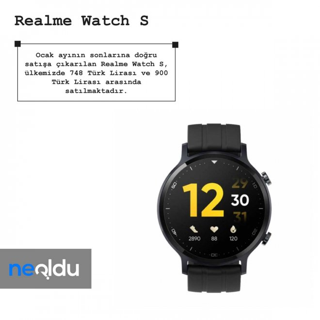 Realme Watch S fiyat