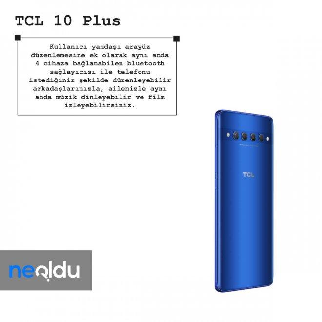 TCL 10 Plus arayüz