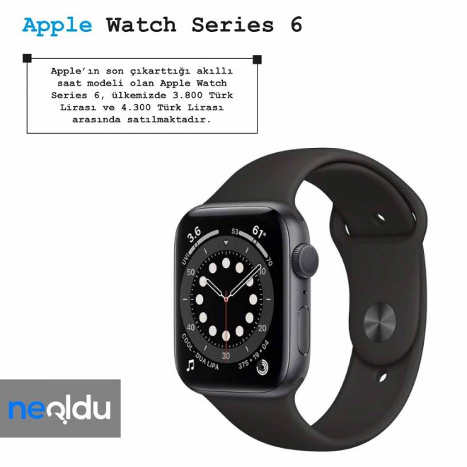 Apple Watch Series 6 fiyat