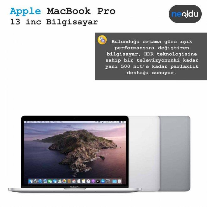13 inç MacBook Pro parlaklık