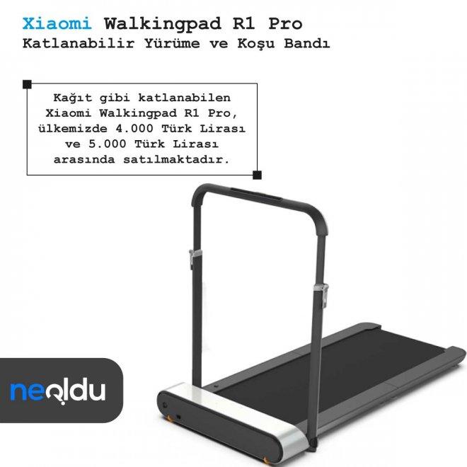 Xiaomi Walkingpad R1 Pro fiyat