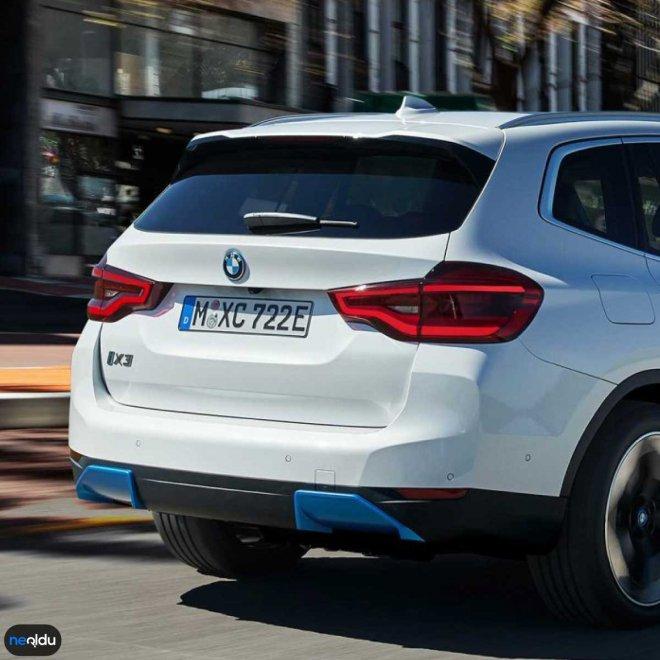 Yeni BMW iX3 2021 Renk Seçeneği