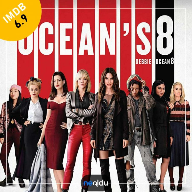 Ocean's 8 (2018) – IMDb: 6.9