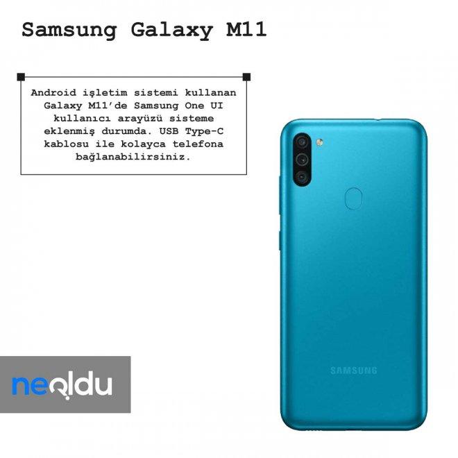 Samsung Galaxy M11 işletim sistemi
