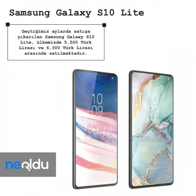 Samsung Galaxy S10 Lite fiyat