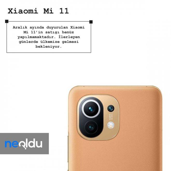 Xiaomi mi 11 fiyat