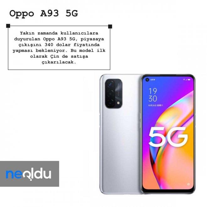 Oppo A93 5G fiyat