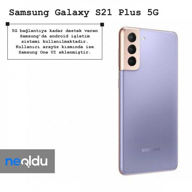 Samsung Galaxy S21 Plus 5G işletim sistemi