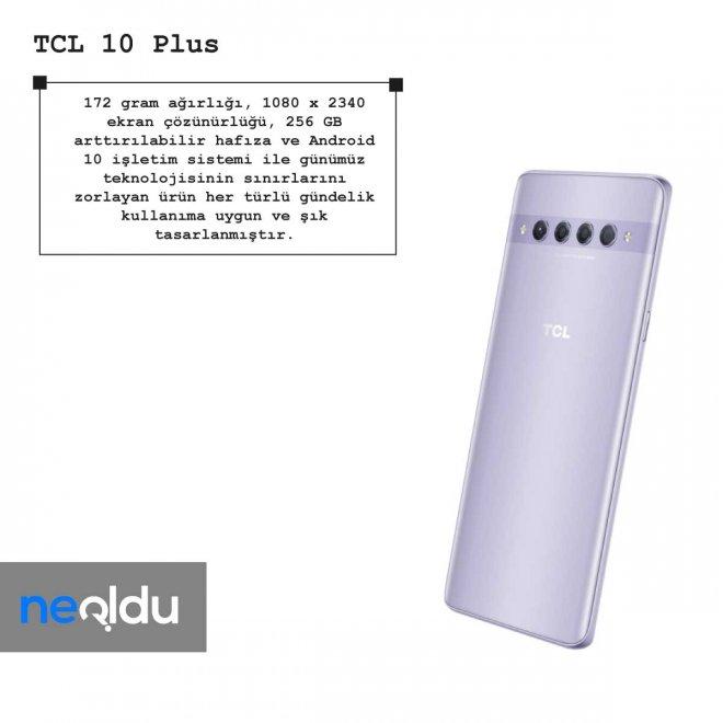 TCL 10 Plus ekran çözünürlüğü