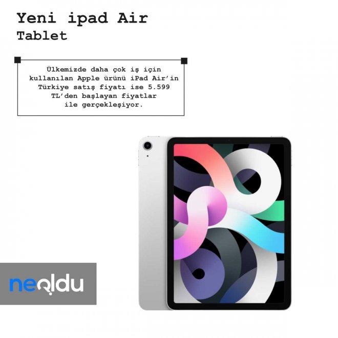 iPad Air Fiyat