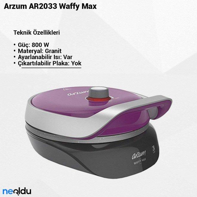 Arzum AR2033 Waffy Max