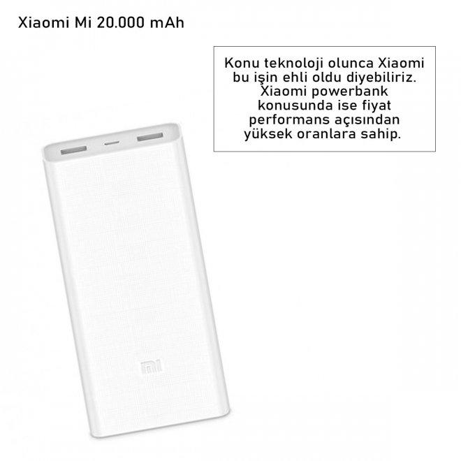 Xiaomi Mi 20.000 mAh