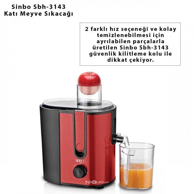 Sinbo Sbh-3143 Katı Meyve Sıkacağı